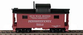 N Scale - Bowser - 37130 - Caboose, Cupola, Steel, NE - Pennsylvania