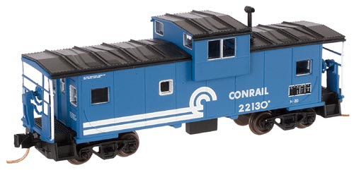 N Scale - Atlas - 30243 - Caboose, Cupola, Steel Extended Vision - Conrail - 22130