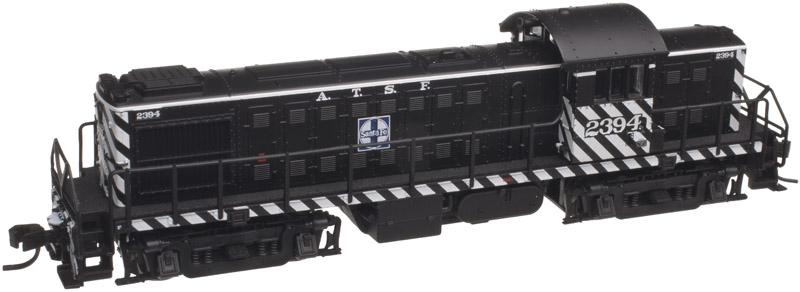 N Scale - Atlas - 40 001 780 - Locomotive, Diesel, Alco RS-1 - Santa Fe - 2395