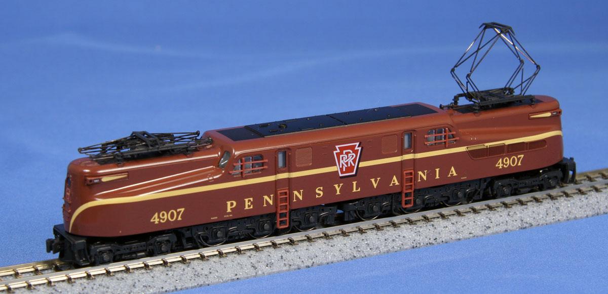 N Scale - Kato USA - 137-2013 - Locomotive, Electric, GG1 - Pennsylvania - 4907