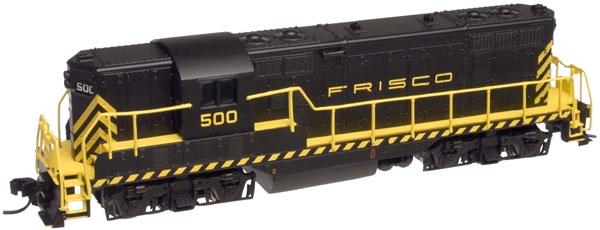 N Scale - Atlas - 48275 - Locomotive, Diesel, EMD GP7 - Frisco - 502