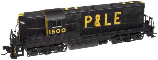 N Scale - Atlas - 50897 - Locomotive, Diesel, EMD GP7 - Pittsburgh & Lake Erie - 1501