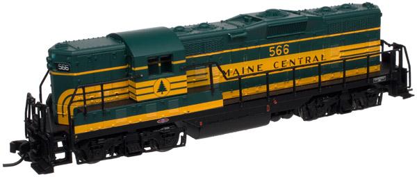 N Scale - Atlas - 40 000 419 - Locomotive, Diesel, EMD GP7 - Maine Central - 566