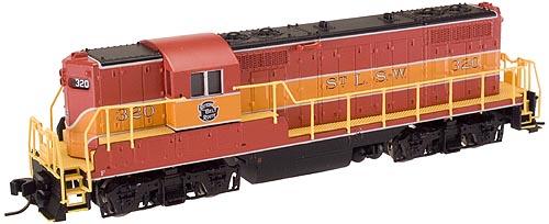 N Scale - Atlas - 50810 - Locomotive, Diesel, EMD GP7 - Cotton Belt - 320
