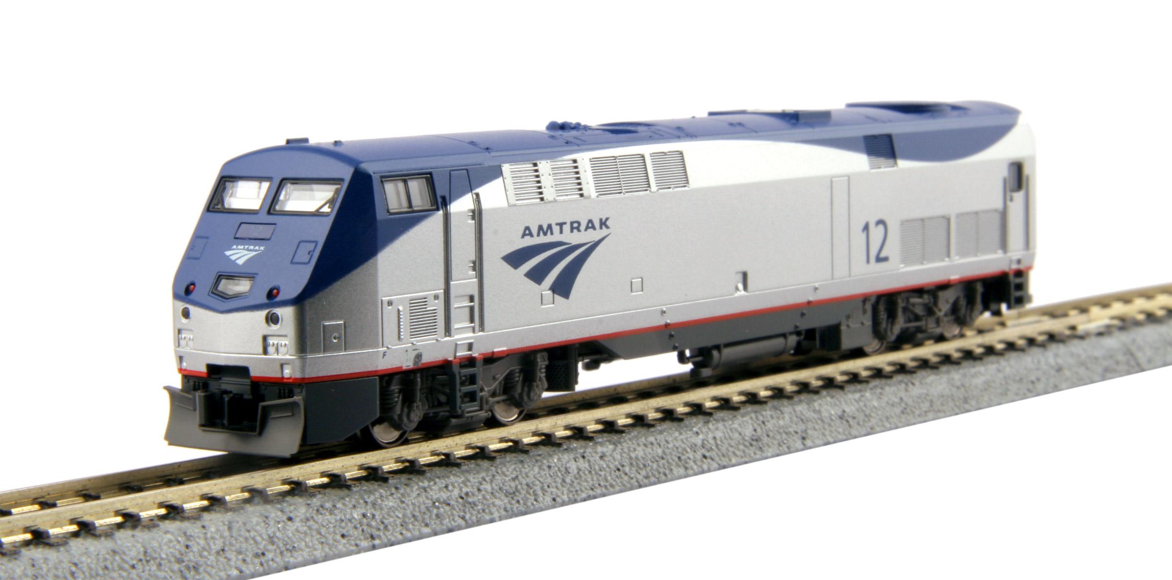 N Scale - Kato USA - 176-6027 - Locomotive, Diesel, GE P42 Genesis - Amtrak - 12