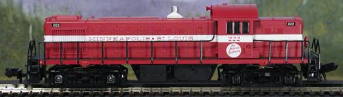 N Scale - Atlas - 44023 - Locomotive, Diesel, Alco RS-1 - Milwaukee & St. Louis - 227