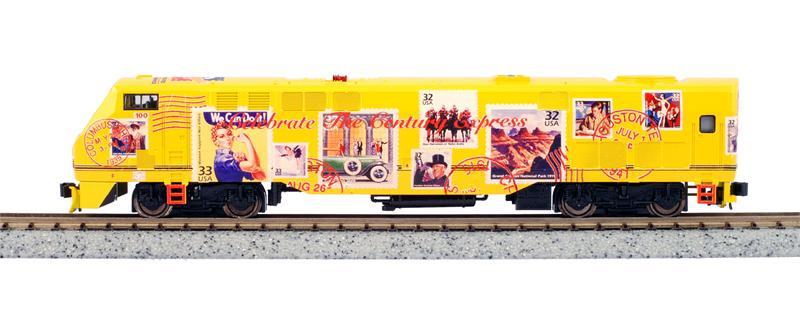 N Scale - Kato USA - 176-6007-KB - Locomotive, Diesel, GE P42 Genesis - Amtrak - 100