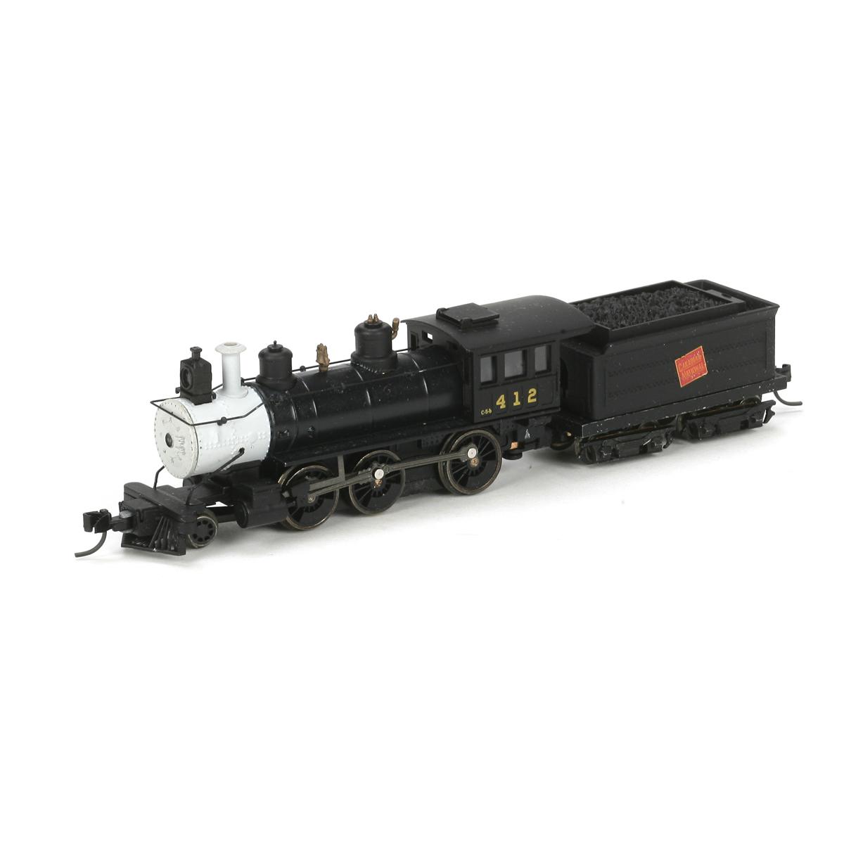 N Scale - Athearn - 11899 - Locomotive, Steam, 2-6-0 Mogul - Canadian National - 412
