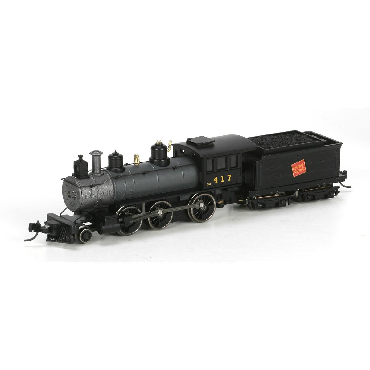 N Scale - Athearn - 11900 - Locomotive, Steam, 2-6-0 Mogul - Canadian National - 417