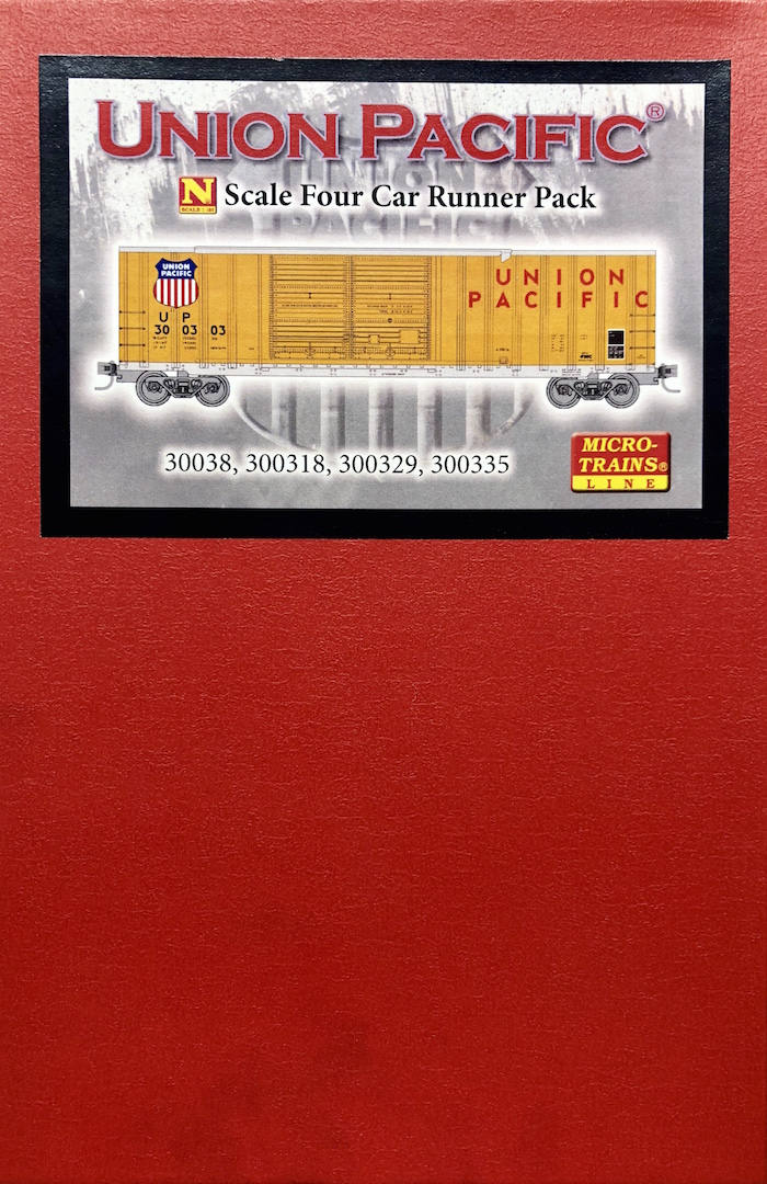 N Scale - Micro-Trains - 993 00 073 - Boxed Set, Runner Pack - Union Pacific