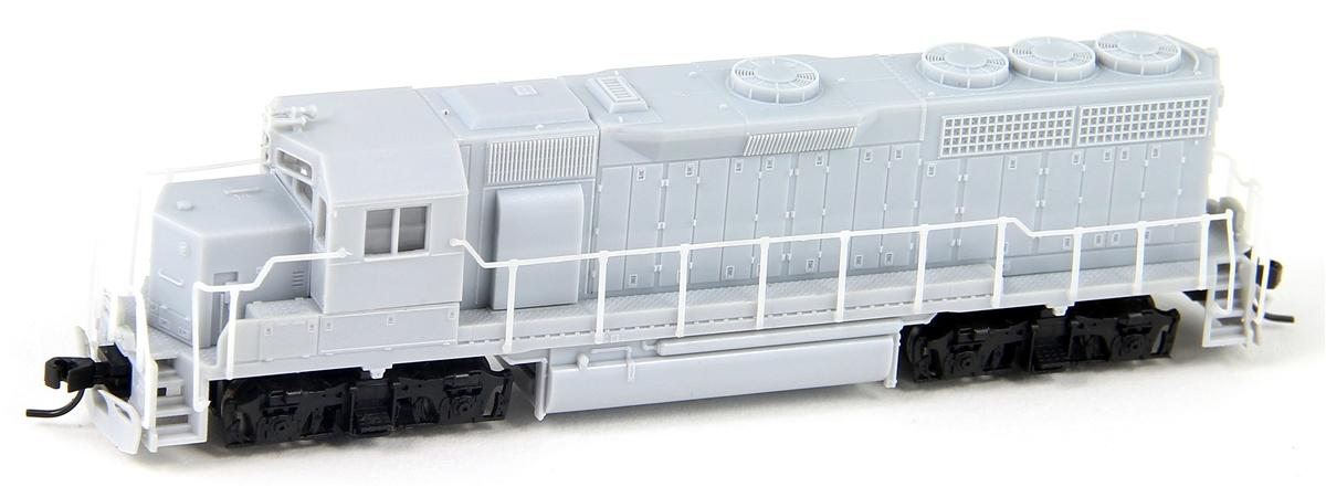 N Scale - Atlas - 40 002 781 - Locomotive, Diesel, EMD GP40 - Undecorated
