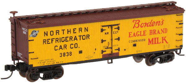 N Scale - Atlas - 41528 - Reefer, Ice, Wood - Borden