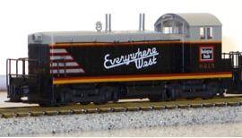 N Scale - Kato USA - 176-4356 - Locomotive, Diesel, EMD NW2 - Burlington Route - 9215