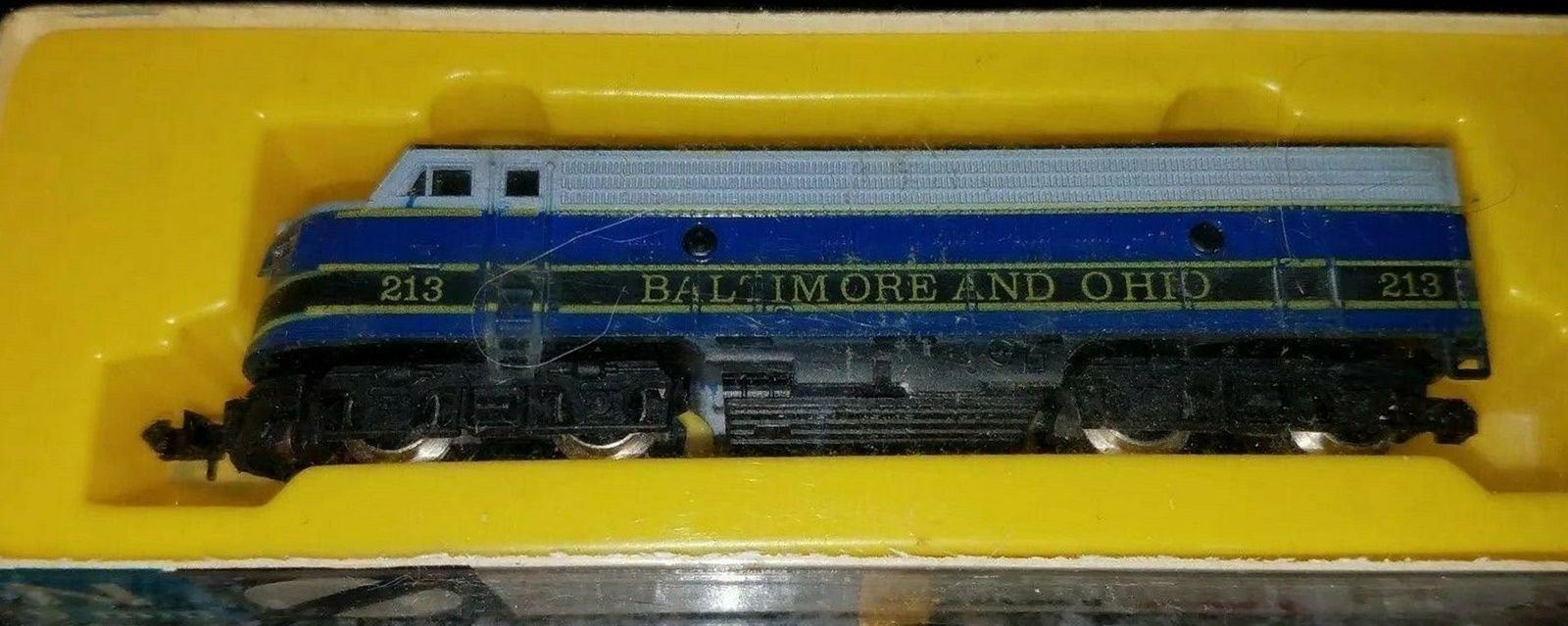 N Scale - Arnold - 0214 - Locomotive, Diesel, EMD FP9 - Baltimore & Ohio - 213
