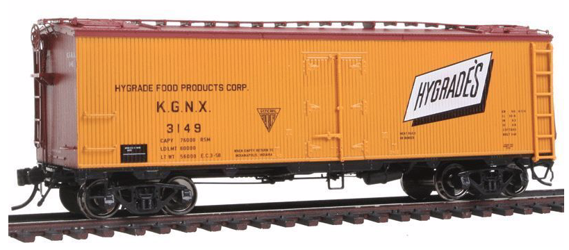 N Scale - Rapido Trains - 521021 - Reefer, Ice, GARX 37