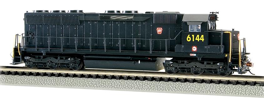 N Scale - Bachmann - 66452 - Locomotive, Diesel, EMD SD45 - Pennsylvania - 6144