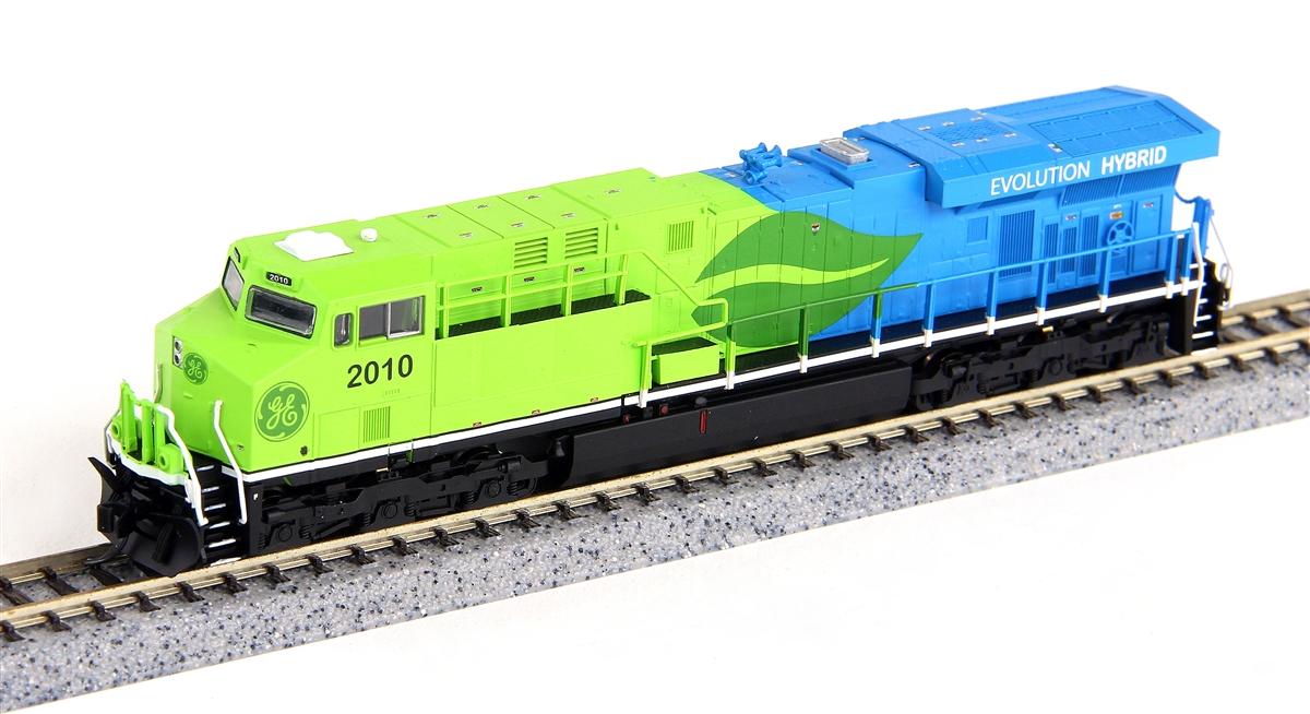 N Scale - Fox Valley - 70120 - Locomotive, Diesel, GE GEVO - General Electric Transportation - 2010