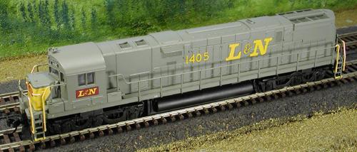 N Scale - Atlas - 54006 - Locomotive, Diesel, Alco C-628 - Louisville & Nashville - None
