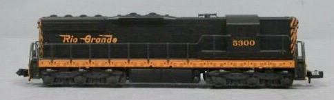 N Scale - Atlas - 4502 - Locomotive, Diesel, EMD SD7 - Rio Grande - 5300