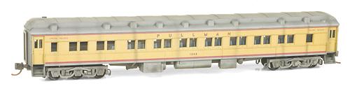 N Scale - Micro-Trains - 143 50 060 - Passenger Car, Heavyweight, Pullman Parlor 28-1 - Union Pacific - 1262