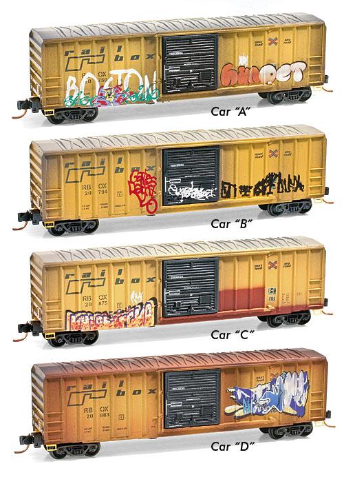 N Scale - Micro-Trains - 993 05 050 - Boxed Set, Runner Pack - RailBox