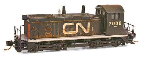 N Scale - Micro-Trains - 993 01 160 - Boxed Set, Table Top - Canadian National