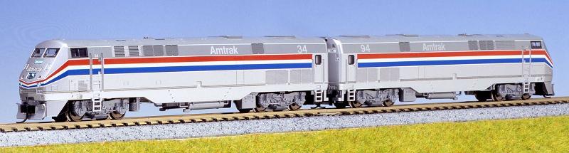 N Scale - Kato USA - 106-6101 - Locomotive, Diesel, GE P42 Genesis - Amtrak - 34, 94