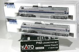 N Scale - Kato USA - 106-6102 - Engine, Diesel, P42 - Amtrak