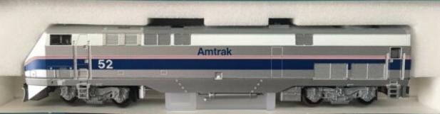 N Scale - Kato USA - 106-6102-B - Locomotive, Diesel, GE P42 Genesis - Amtrak - 52