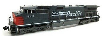 N Scale - Kato USA - 176-3602 - Locomotive, Diesel, GE C44-9W - Southern Pacific - 8105