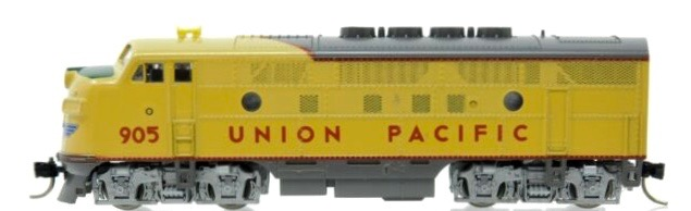 N Scale - Kato USA - 176-073 - Locomotive, Diesel, EMD F3 - Union Pacific - 905