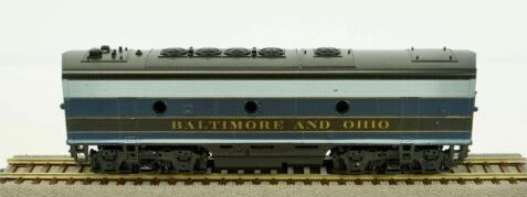 N Scale - Kato USA - 176-192 - Locomotive, Diesel, EMD F3 - Baltimore & Ohio