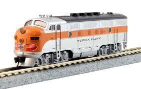 N Scale - Kato USA - 176-1202 - Locomotive, Diesel, EMD F3 - Western Pacific - 802A