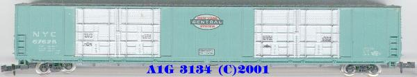 N Scale - Atlas - 3134 - Boxcar, 85 or 86 Foot, Auto Parts - New York Central - 67628