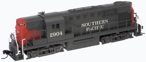 N Scale - Atlas - 42743 - Locomotive, Diesel, Alco RS-11 - Southern Pacific - 2909
