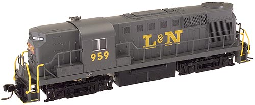 N Scale - Atlas - 42720 - Locomotive, Diesel, Alco RS-11 - Louisville & Nashville - 954