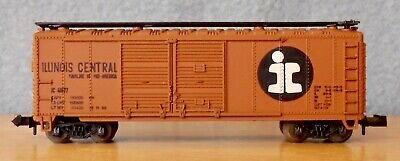 N Scale - Atlas - 2287 - Boxcar, 40 Foot, Steel Double Door - Illinois Central - 41677