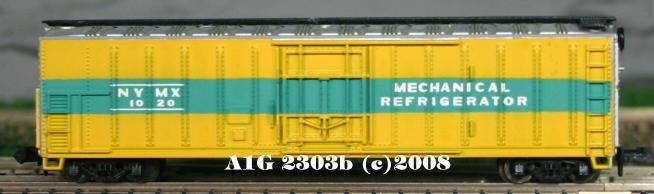 N Scale - Atlas - 2303 - Reefer, 50 Foot, Mechanical - Merchants Despatch - 1000