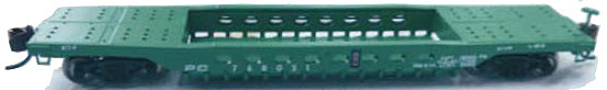 N Scale - Eastern Seaboard Models - ESM-210401 - Container Car, Well, GSC - Penn Central - 768021