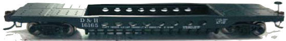 N Scale - Eastern Seaboard Models - ESM-210101 - Container Car, Well, GSC - Delaware & Hudson - 16165