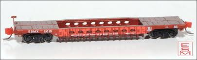 N Scale - Eastern Seaboard Models - 003004 - Container Car, Well, GSC - Holiday Car - 2015