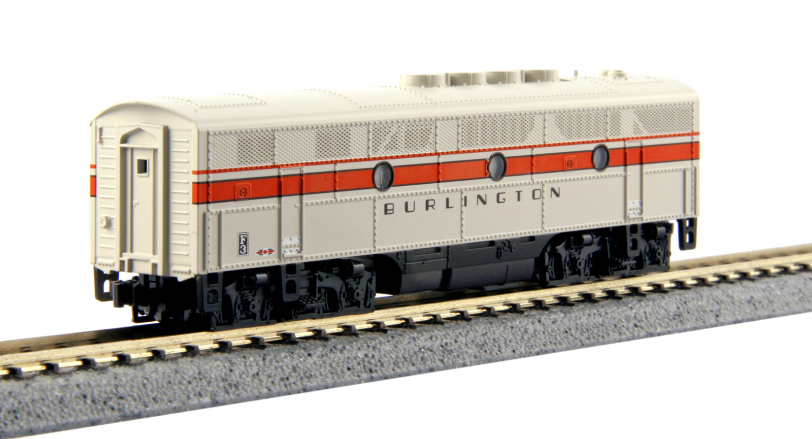 N Scale - Kato USA - 176-1315 - Locomotive, Diesel, EMD F3 - Burlington Route