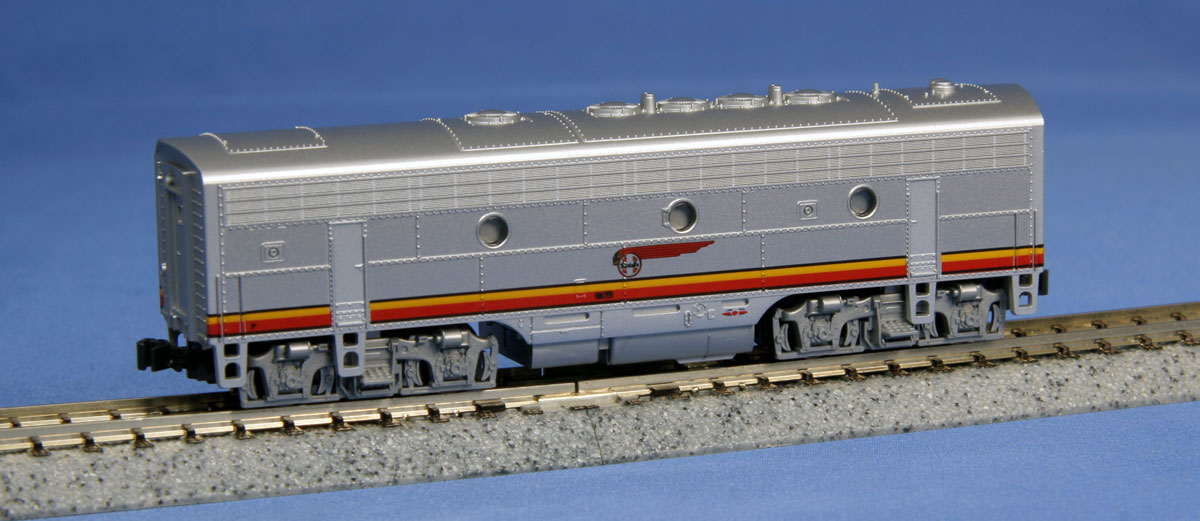 N Scale - Kato USA - 176-2211 - Locomotive, Diesel, EMD F7 - Santa Fe