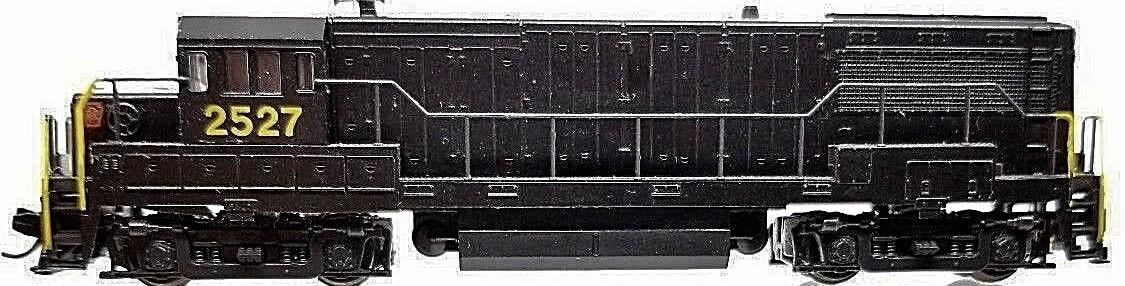 N Scale - Atlas - 4452 - Locomotive, Diesel, GE U25B - Pennsylvania - 2527