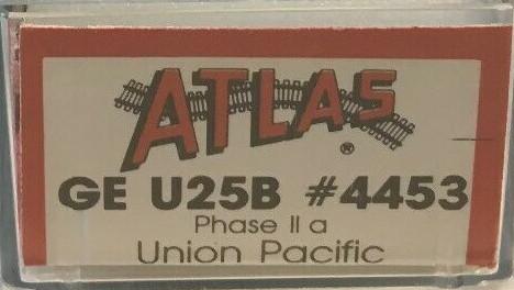 N Scale - Atlas - 4453 - Locomotive, Diesel, GE U25B - Union Pacific - 640