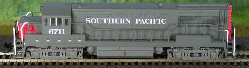 N Scale - Atlas - 44508 - Locomotive, Diesel, GE U25B - Southern Pacific - 6724