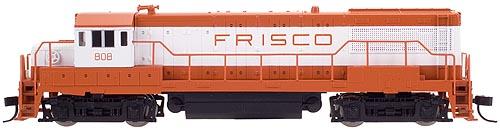 N Scale - Atlas - 44580 - Locomotive, Diesel, GE U25B - Frisco - 815