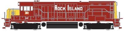 N Scale - Atlas - 44520 - Locomotive, Diesel, GE U25B - Rock Island - 205