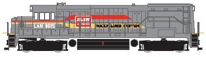 N Scale - Atlas - 44717 - Locomotive, Diesel, GE U25B - Family Lines - 1615