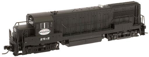 N Scale - Atlas - 44784 - Locomotive, Diesel, GE U25B - New York Central - 2509